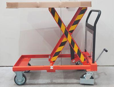 250kg QUICK LIFT Hubplattformwagen Doppelschere Scherenhubwagen Hubtisch